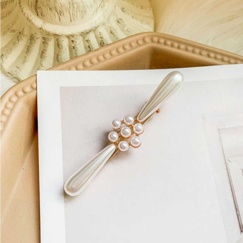 Horquillas de diamantes de imitación de cristal brillante Barrettes copo de nieve forma de conejo pinzas para el cabello diseño de peinado accesorios para el cabello joyería