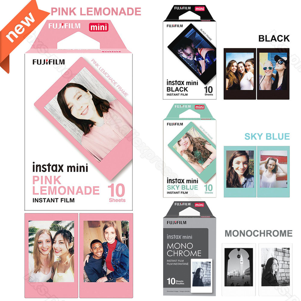 New Fujifilm Instax Mini 9 Film Pink For Instax Mini 9 8 8+ 7s 7c 70 90 25 Share SP-1 SP-2 Printer, Polaroid 300, Leica's Sofort цена