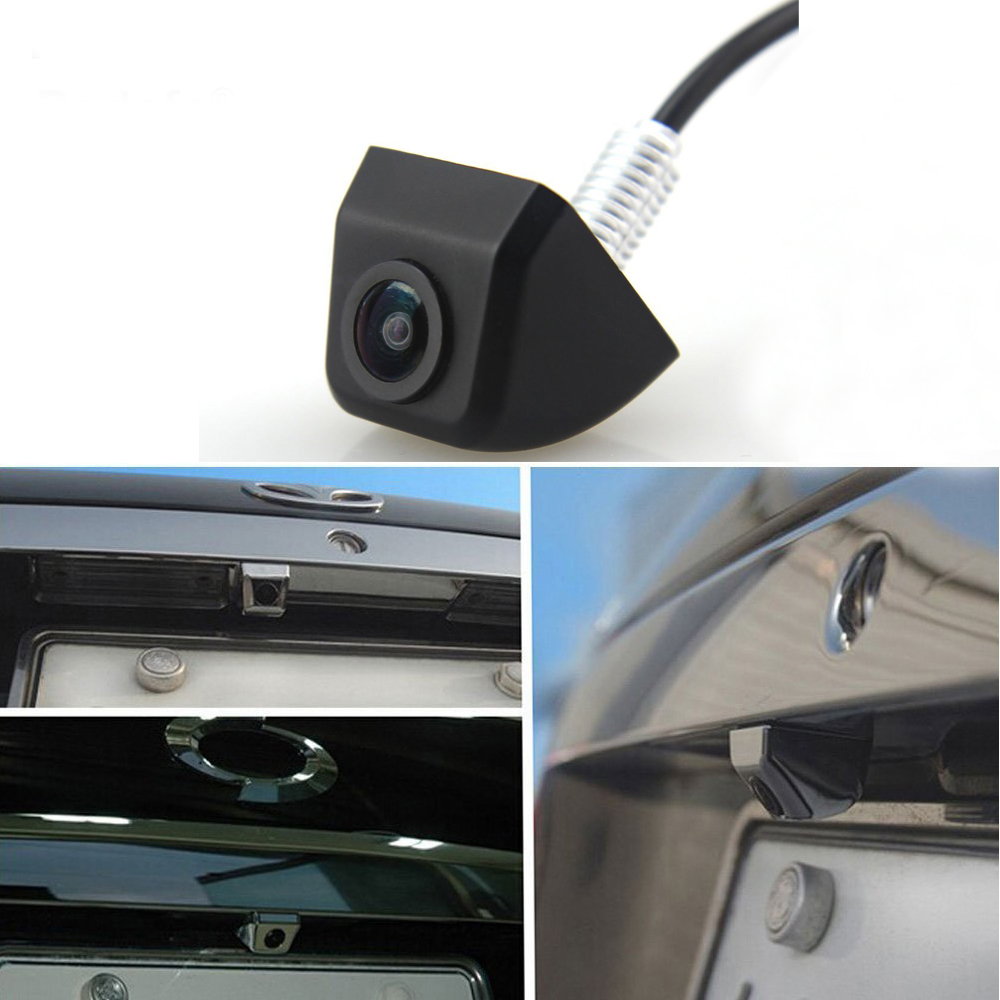 Image 2 - AMPirme  Car Rear View Camera Car Rearview Camera Park Monitor CCD HD Mini Backup Reversing Camera Parking Reverse Assistance-in Vehicle Camera from Automobiles & Motorcycles