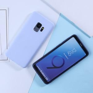 Image 5 - Luxury Case For Samsung Galaxy S9 Cases Candy Color TPU Cover For Samsung Galaxy S8 S9 A5 A3 2017 A8 S10 S10e Plus A7 2018 Plus