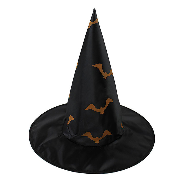 New Adult Black Witch Hat For Halloween Costume Accessory Halloween  Clothing Scary Costumes cappello di Halloween c52c525c9d4c