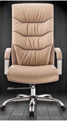 New style real leather boss chair. Bow-shaped office chair. Computer chair. 39