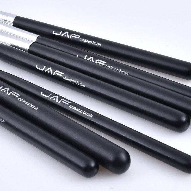 JAF Brand 7pcs Eyeshadow Brushes for Makeup Classic 100% Natural Animal Hair Eye Shadow Blending Make Up Brush Set JE07PY 4
