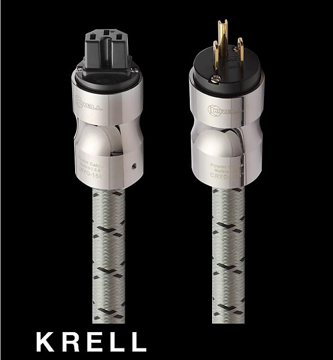 KRELL fever imported power cord power cable hifi American standard audio CD amplifier amp US power cables