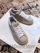 Original Puma SUEDE Platform Rihanna series Women s Sneakers Suede Satin  Badminton Shoes Size 35-39 4ac289529