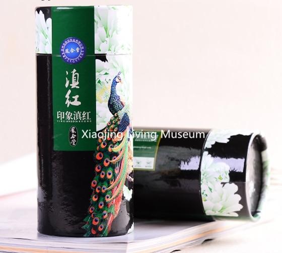 2016 New Red Tea 100g, China special grade Black Tea yunnan dian hong large leaf red tea tea congou Gift Box, Free Shipping