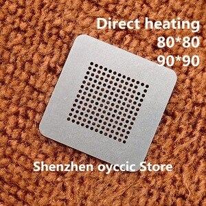 Image 1 - Direct heating  80*80  90*90  980 YFE TM4EA23I H6ZXRI TM4EA23IH6ZXRI  BGA Stencil Template