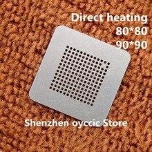 Doğrudan ısıtma 80*80 90*90 980 YFE TM4EA23I H6ZXRI TM4EA23IH6ZXRI BGA Stencil Şablon