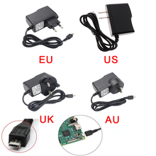 Dusco.E Power Charger 5V 2.5A Micro Port Power Adapter Supply EU US UK AU Plug for Raspberry Pi 3 Model B + Raspberry Pi 2 uk rs version raspberry pi 3 heat sink case box power charger plug 1 5m hdmi 16g sd for raspberry pi 3 b free shipping