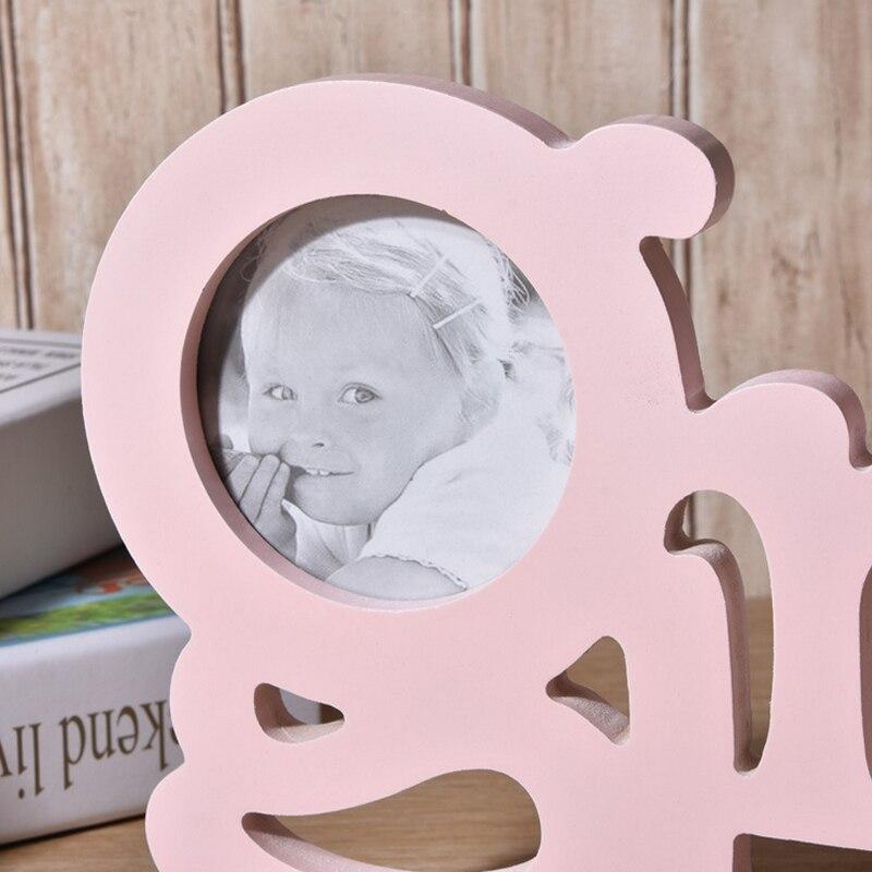 Nette Baby Foto Rahmen Einfache Holz Mode Bilderrahmen Rustikalen ...
