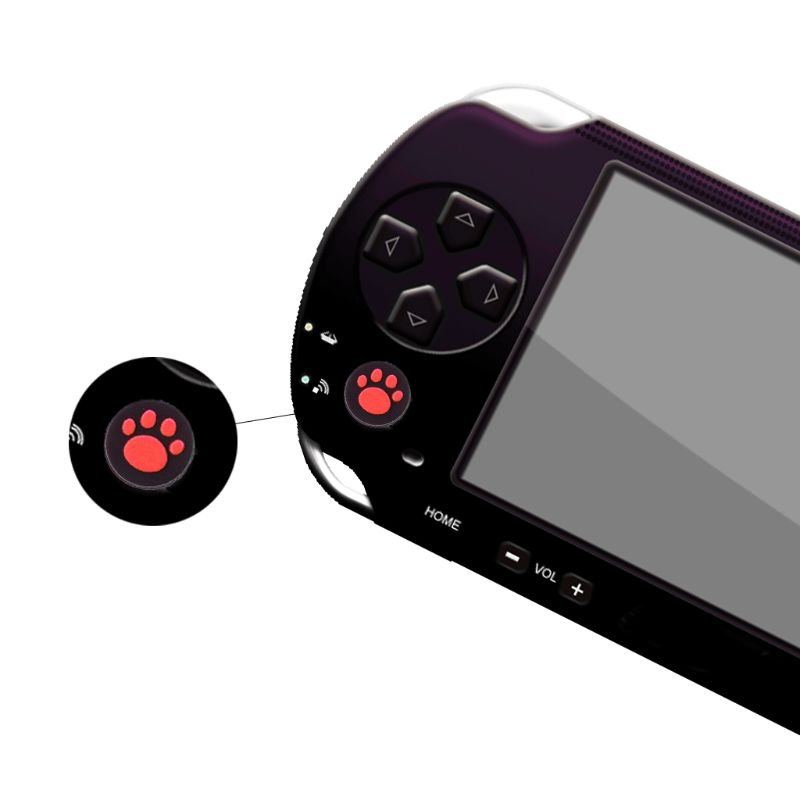 2pcs Cat Paw Analog Controller Thumbstick Grip Cap Protective Cover For <font><b>Sony</b></font> PlayStation <font><b>Ps</b></font> <font><b>Vita</b></font> <font><b>PS</b></font> <font><b>Vita</b></font> PSV <font><b>1000</b></font>/2000 Slim image