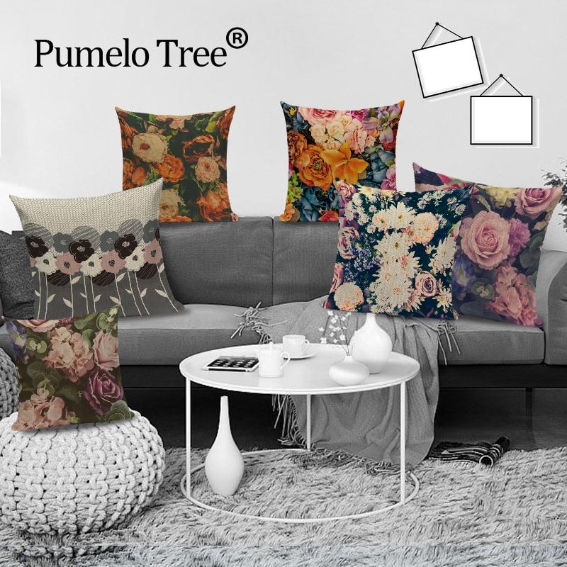 18 Print Decorative Pillow Big Ear Buddha Cushion Cover Sofa Home Decor