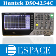 2017 New Hantek DSO4254C Digital Storage Oscilloscope 250 MHz 4 Channels 1 Gsa/s Integrated USB Host/Device Better Than DSO5102P