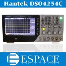 Hantek Oscilloscope de stockage numérique DSO4254C, 2017 MHz, 4 canaux 1 Gsa/s intégré hôte/dispositif USB meilleur que DSO5102P, nouveauté 250
