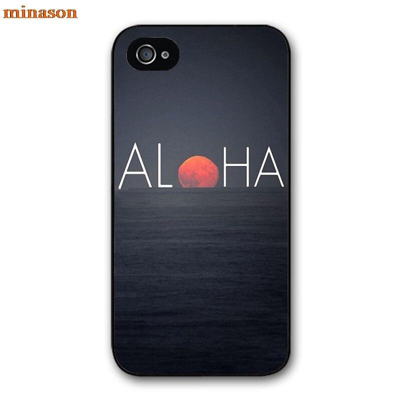 minason <font><b>Hawaii</b></font> Aloha Beach PhoneCover <font><b>case</b></font> for iphone 4 4s 5 5s 5c 6 6s 7 8 plus samsung galaxy S5 S6 Note 2 3 4 F3012