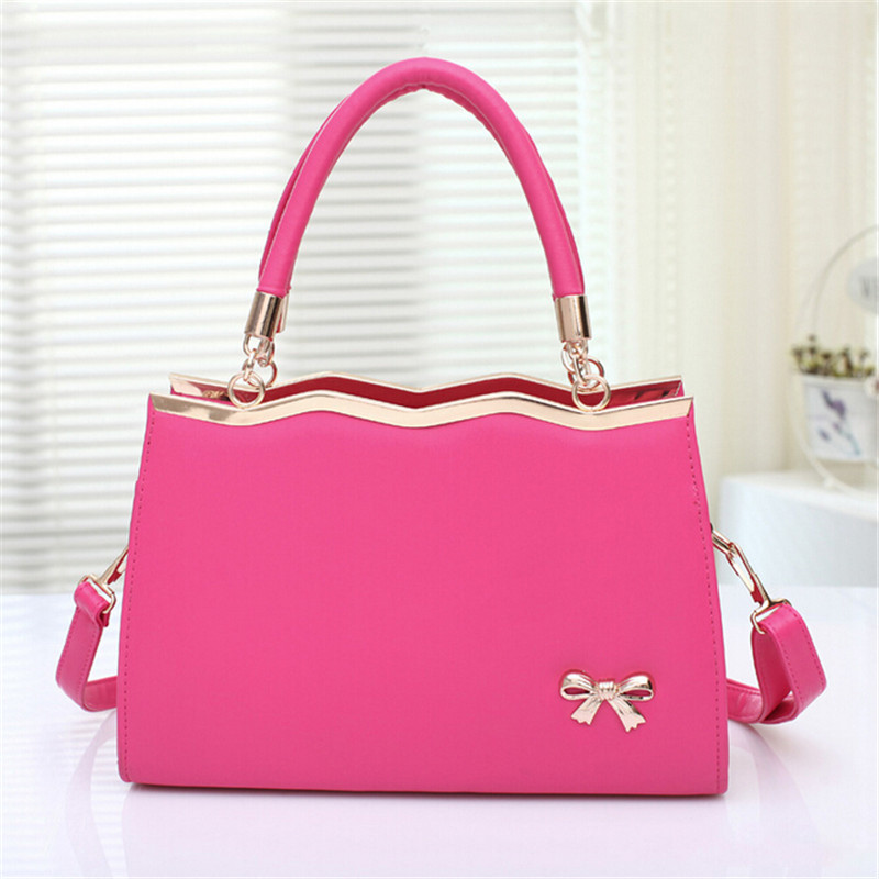 2016 Korean version of the new bow bag Shunv Bao female messenger bag factory direct wholesale 10 color options the other side of the road new extended version cd