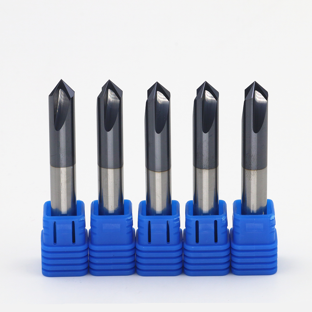 Free shipping 5/box New 3 Flute 90 Angle Head:10mm CNC Carbide Chamfer End mills Highest cutting 55HRC-10*90 Angle duelund round cast pio cu 100 v 3 9 uf