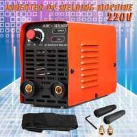 ARC 300 220V Inverter DC Mini Copper Portable Welding Machine Gas/No Gas Arc Mig Welder Portable Strap Manual Cooling Fan