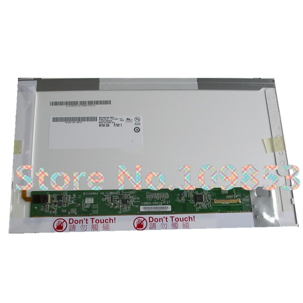 11.6 inch LCD matrix LP116WH1 TLA1 LTN116AT01 N116B6-L02 B116XW02 For <font><b>Lenovo</b></font> U150 <font><b>S205</b></font> X120E E10 notebook led screen replacement image