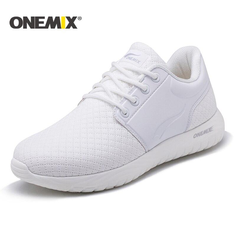 Onemix running shoes for women breathable mesh women lightweight sneaker for outdoor walking trekking shoes mensports