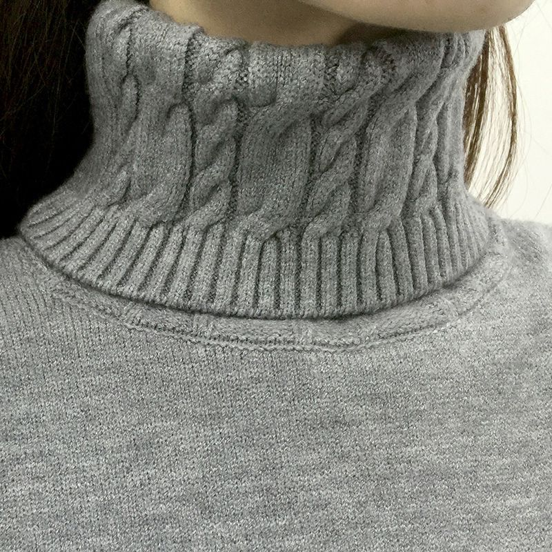 Thick Warm Women Turtleneck Winter Women Sweaters
