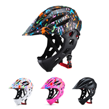 2019 Children Riding Helmets Bike Bicycle Cycling Skating Protection Safety Helmet LED Taillights Kids Sport S 46-53cm