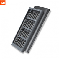 11 11 Promotion Original Xiaomi Wiha Daily Use Screwdriver Kit 24 Precision Magnetic Bits Alluminum Box