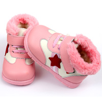 Keep Warm Baby Girl Boy Snow Boots Soft Leather Baby Shoes Winter Baby Boots For Girl Infant Kids Baby First Walkers Shoes