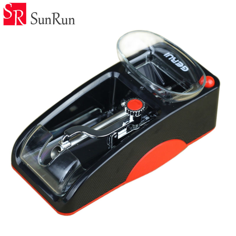 New Arrival Portable Automatic Tube Filling Cigarette Injector Roller Tobacco Maker Electronic Cigarette Rolling Machine bqlzr sushi maker bamboo roller rolling mat 24x24cm w red chopsticks spoon