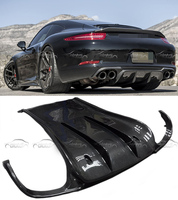 Free Shipping For Porsche Carrera VRS Style 911 Car Styling Real Carbon Fiber Rear Bumper Diffuser 911 Series Back Lip