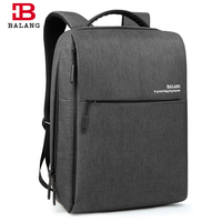 BALANG Fashion Computer Backpacks For Men Waterproof School Bags For Teenagers Urban Life Style Backpack Fits