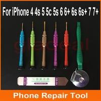 Opening gereedschap pry schroevendraaier koevoet demonteren lcd digitizer voor iphone 4 4 s 5 5 s 6 6 s + 7 + reparatie