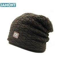 Jamont nueva moda hombres mujeres nieve caliente invierno casual gorros  sólido 6 colores favorito sombrero gorro hip hop casual . 2cebbdc4cbf