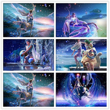 5D Diy Diamond Painting Constellation Diamond Embroidered Cartoon Square /Round Diamond Rhinestone Cross Stitch Mosaic  Sticker 3d diy diamond painting horse square rhinestone diamond embroidered mosaic mosaic stitch crafts luovizem l149