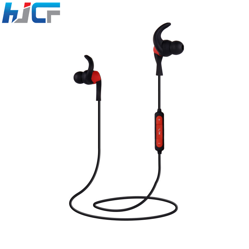Original HJCF ZY09 Bluetooth 4.1 Sport Earphone Handfree Wireless Bluetooth Earphones Stereo Clear Sound With Mic For Smartphone absolute stylish sport v4 1 q2 sound bass stereo bluetooth earphone wireless handfree with mic for phones