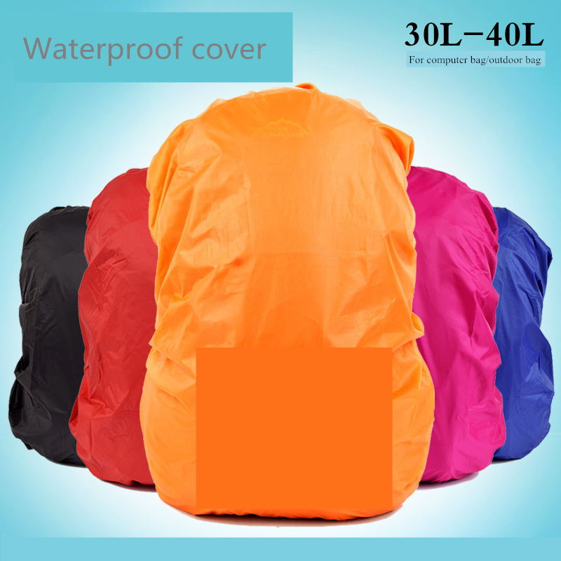 30-40L Dustproof Cover Outdoor Hiking Bag Rain Cover Portable Ultralight Shoulder Protect Backpack Cover