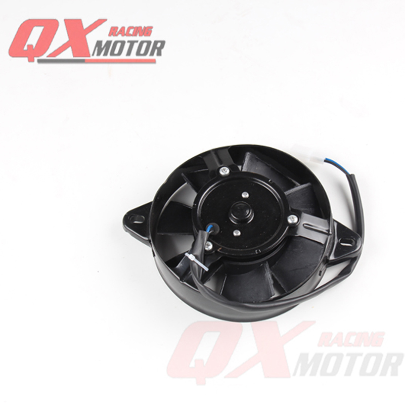 Oil Cooler Water Cooler New Electric Radiator Cooling Fan For 200 250 cc Chinese ATV Quad Go Kart Buggy Dirt Bike Motorcycle hot sales good quality cooling fan oil cooler water cooler radiator cooling fan for atv quad go kart buggy dirt pit bike fs 003