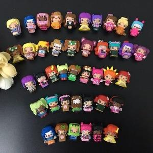 Image 2 - 100 шт./лот MMMQs My Mini Mixie Qs аниме куклы Mixieq сборная девушка модель капсульные игрушки Фигурки Mixieqs подарок