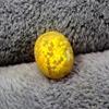 yellow opal stone loose beads gemstones oval shape flat base cabochon created gemstone for jewelry making DIY precious stones