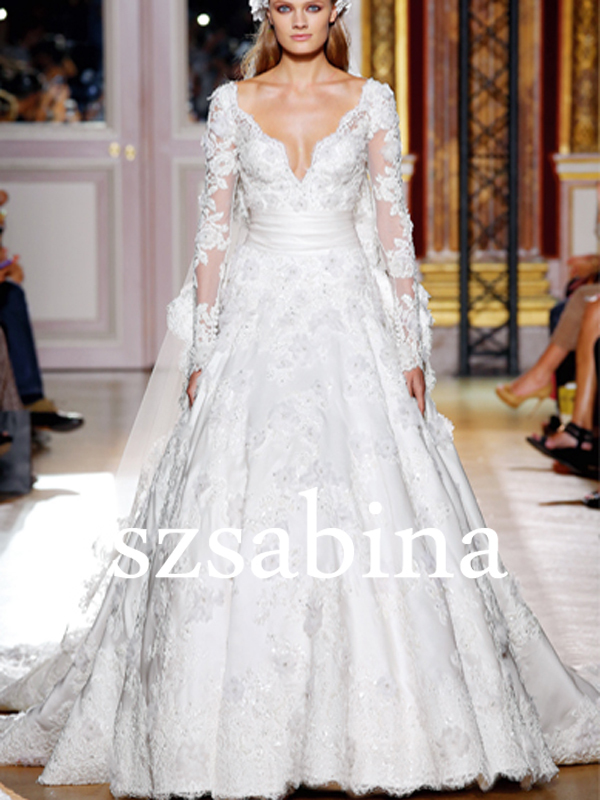 TED0078 Elegant haute couture elie saab wedding dresses for sale ...