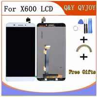 Assemblée de numériseur d'écran tactile d'affichage à cristaux liquides avec Le cadre pour Letv Le 1 fx608 x600 pièces de rechange de téléphone portable