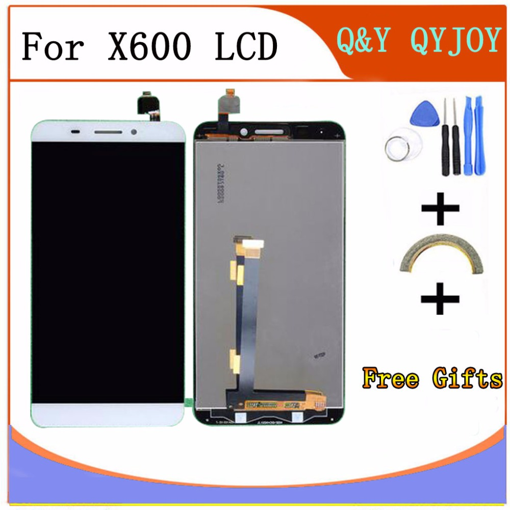 Q&Y QYJOY X600 LCD Display Touch Screen Digitizer Assembly with frame For Letv Le One 1 Mobile Phone Replacement Parts