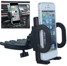 Car CD Player Slot Mount Cradle GPS Tablet Phone Holders Stands For Nokia Lumia 1520 1320,ZTE Axon Max,nubia Z11 Max,Zmax