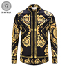 PLstar Cosmos Luxury Men S Shirts Fashion Brand Designer Man Fancy Shirts Mens Casual Slim Floral