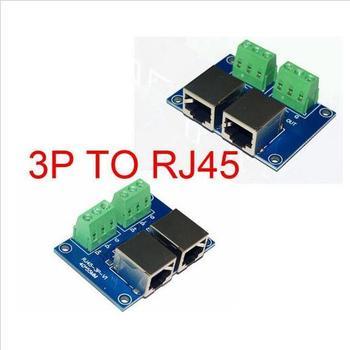 цена на RJ45-3P DMX512 Relays connector