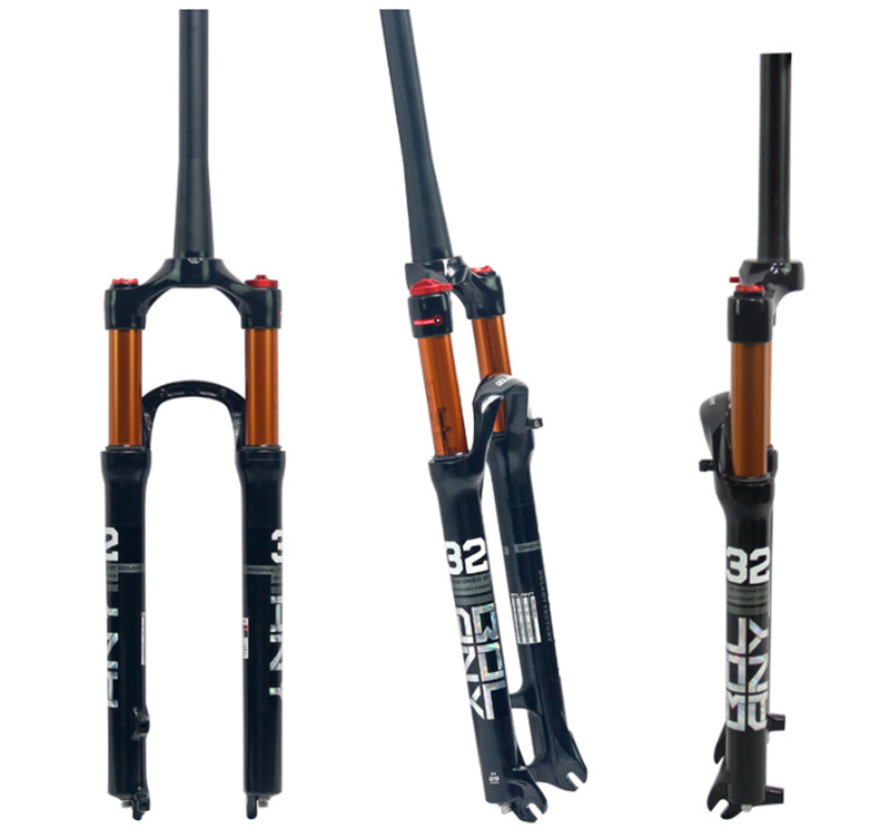 Magnesium Alloy MTB Front Fork Supension Air 26 27 5 29er Mountain Bike 100mm Fork Air