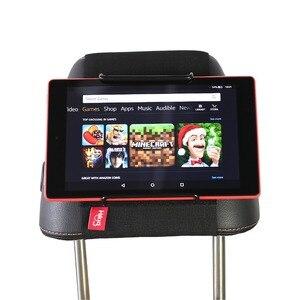 Image 3 - Tylne siedzenie samochodu tabletka zamontować uchwyt na zagłówek dla amazon kindle Fire 7, ogień HD 8, ogień HD 10 dzieci edycja z/bez obudowy