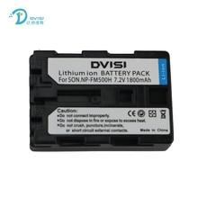 DVISI 1.8Ah NP-FM550h NPFM500h Batteries For sony a58 a65 a77 A99 A900 A200 A300 A350 A450 A500 A550 A560 A580 A450 A560 A700