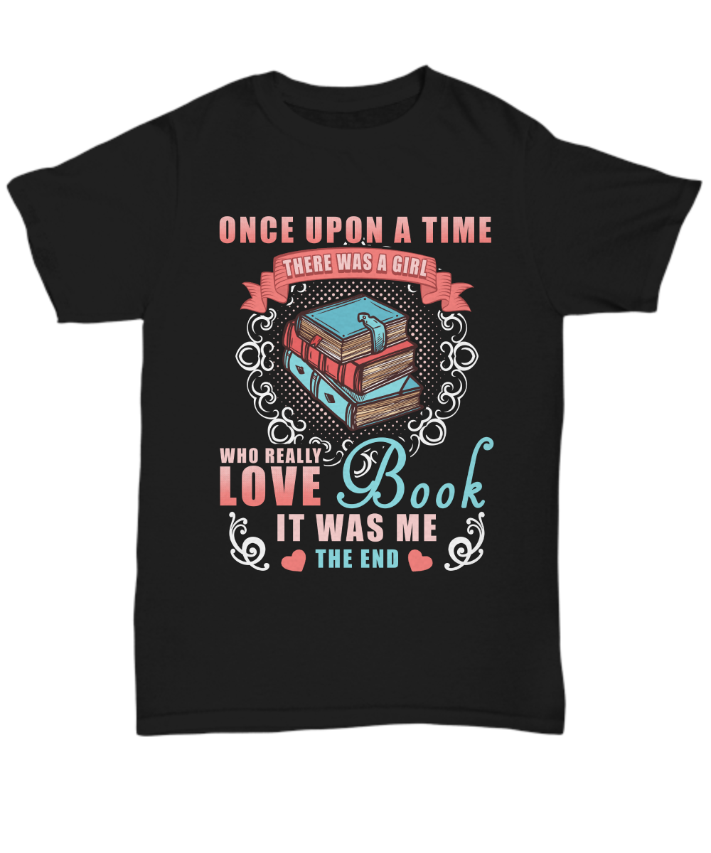 Read Book Lovers T Shirt Women Girl Tee Gift I Love Books Reader T-shirt Reading Cool Casual pride t shirt men Unisex Fashion(China)
