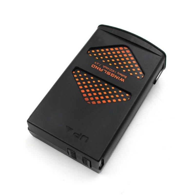 Радиоуправляемый квадрокоптер запасных Запчасти 7.6 В 1400 мАч lipo Батарея для wingsland S6 FPV-системы Игрушечные лошадки модели Перезаряжаемые Заме...